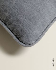 Image 2 of the product LINEN CUSHION COVER Zara Home, Cushions, The Unit, Bedroom, Cover, Image, Throw Pillows, Toss Pillows, Pillows