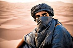 Africa: Amazigh berber nomad, Sahara desert, Morocco. Berbers are the indigenous ethnic group of North Africa, west of the Nile Valley. They are continuously distributed from the Atlantic to the Siwa oasis, in Egypt,