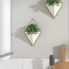 Umbra 2 Piece Trigg Wall Décor Set & Reviews | Wayfair