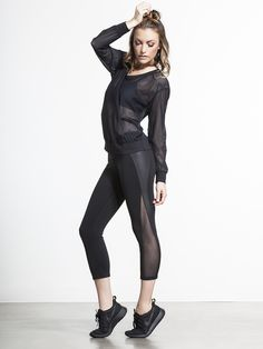 Nova is an apt name for these capris, since they're unbelievably hot. Of course, they'll still keep you cool with the moisture wicking fabric and mesh panels, but it's those angular slashes of mesh that lengthen your leg and add a little heat to any outfit.