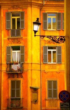 Yellow Orange building