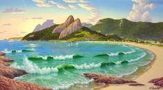Ipanema Beach In 1900 | Artsia