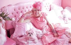 You are never too old for Pink!♡
