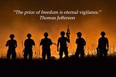 Thank you to all those on watch today while we enjoy our freedom.
