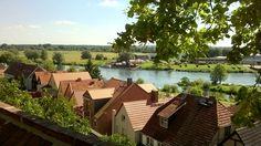 Vom Domberg gleitet der Blick hinunter auf die Havel