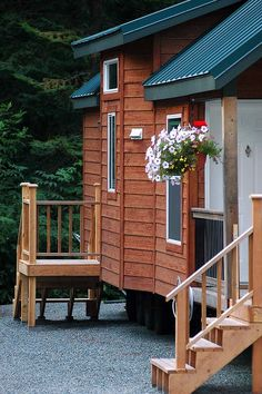 Designed by upscale maker Fleetwood/Cavco, largest manufacturer of vacation/park model homes in the USA. Buy A Tiny House, Tiny House Blog, Tiny House Community, Tiny Houses For Sale, Outdoor Storage Sheds, Outdoor Sheds, Premade Sheds, Cedar Siding, Wood Siding