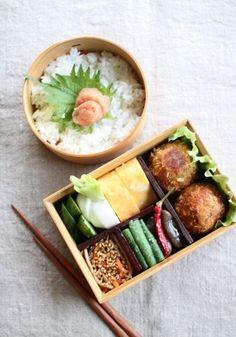日本人のごはん/お弁当 Japanese Bento Boxed Lunch