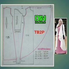 Outer hijab Source by ninksurya dresses muslim Batik Fashion, Abaya Fashion, Fashion Sewing, Fashion Dresses, Tunic Sewing Patterns, Clothing Patterns, Dress Patterns, Abaya Pattern, Pants Pattern