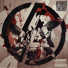 Linkin Park - Hybrid Theory by nathanieldrury on DeviantArt Lp Tattoo, Rock Tattoo, Linkin Park Hybrid Theory, Linkin Park Wallpaper, Linkin Park Logo, Linking Park, Totenkopf Tattoos, Rock Poster, Linkin Park Chester