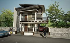 Various Home Designs for Top-Notch Construction Architects. Philippines, Architects, Construction, House Design, Mansions, House Styles, Home Decor, Building, Decoration Home