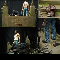 Wolverine lastman standing -- Part 2  1/4 scale  Custom by Mastersolid  Paint 3D Work: D2 Hwang Daehwan  Carpentry work: Park yongjun  Wolverine Sculpture: Narin  From: Daehwan Hwang  #scifi #cinema #filme #movie #wolverine #hero #herói #xmen #ficção #dio #diorama #dioramas #udk #usinadoskits #professorxavier #xavierschool #escolarxavier #hobby #passatempo