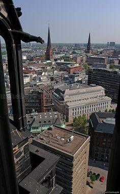Hamburg - Blick vom Michel