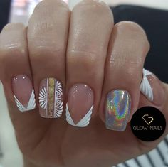 Manicure, Glow Nails, Luxury Nails, Bridal Nails, Nailart, Nail Designs, Instagram, Arabesque, Finger Nails