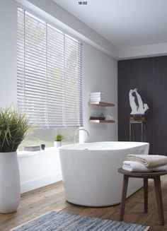 White may be the safe and traditional decorating non-colour go-to, but for a slick room makeover, black is the new white, and a chic alternative for a modern interior update. Bathroom Spa, Laundry In Bathroom, Bathroom Interior, Modern Bathroom, Master Bathroom, Bathroom Plants, Bathroom Furniture, Bad Inspiration, Bathroom Inspiration