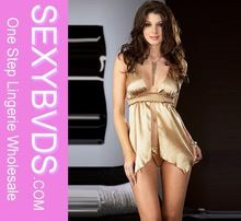 LIGHT GOLDEN NUDE BABYDOLL LINGERIE, SEX HOT SATIN LINGERIE BABYDOLLS SL2310  Best Seller follow this link http://shopingayo.space