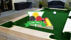 How To Make A Soccer Ball Pool Table Yard Decor Pinterest - Kickball pool table