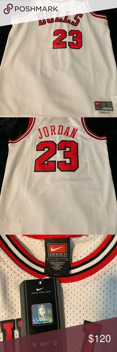 new products 899b4 f3fc5 Youth L NBA Jersey NWT   100 percent authentic Michael Jordan Nike Chicago  Bulls  Price