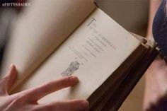 FSOG   New still First edition of Tess of the Durbervilles that Christian gives to Ana.