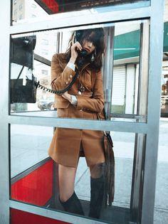 editorial from Vogue Paris, styled by Geraldine Saglio