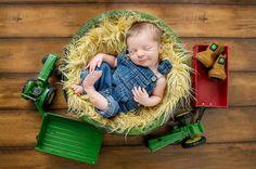 Cute little country boy.
