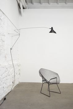 Wall lamp with swing arm BS2 Mantis Collection by DCW éditions | design Bernard Schottlander