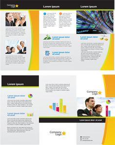 21 plantillas de folletos para descargar gratis graphic design me