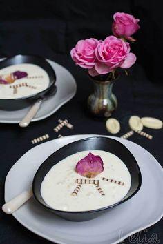 """#Risotto #Reis #Zimt #Rosenwasser #milchreis #zimtreis #milchreisrezept #reiscreme #reisdessert Buchvorstellung """"Dinkel, Amarant, Quinoa & Co, ein Rezept von cremigem Zimtrisotto, von mir etwas abgewandelt Dessert, Quinoa, Panna Cotta, Ethnic Recipes, Food, Cinnamon, Rose Water, Book Presentation, Cakes"""