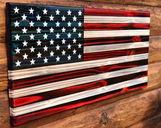 My Pins Rustic Classic American Flag Wall Decor, Rustic Wooden Charred American Flag, Classic Americ American Flag Art, Wooden American Flag, Wooden Flag, American Decor, American Pride, Stencil Vinyl, Stencil Painting, Painting Logo, Rustic Fireplace Mantels