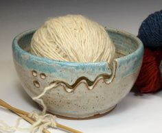 Image result for yarn bowl for holding yarn