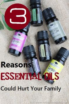 3 Reasons Essential Oils Could Hurt Your Family - Just because something is natural doesn't mean it's safe. A brief exploration of how to know what you don't know about essential oils, their safety, dangers, and the vital importance of knowledge. Essential Oil Safety, Essential Oil Uses, Natural Essential Oils, Natural Oils, Young Living Oils, Young Living Essential Oils, Oils For Life, Tips & Tricks, Perfume
