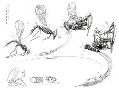 Herwig SCHERABON, Ichneumonid: Subversive Parasitic Architecture. Morphology.