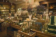 Inside view of the 'Occitane' shop in Saint-Louis-en-l'Ile street, 4th arrondissement