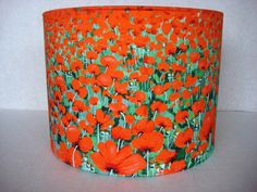 Blowing Poppies Lampshade from Smartdeco-style.com £75