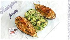 Aubergines farcies  Recette par ici ⤵ http://www.toutsimplementfaitmaison.com/2016/05/aubergine-farcies.html