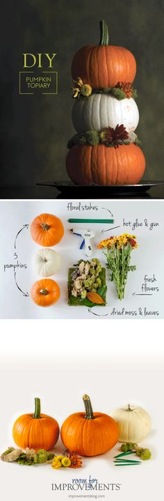 Hosting a last-minute Thanksgiving dinner this year? Try making this easy DIY Thanksgiving centerpiece that gives your dinner table or buffet table a unique seasonal touch.