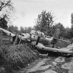 Crash Landed JU-87 Stuka.  Would make a great painting.