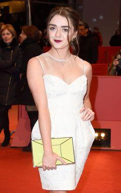 Let's All Take A Moment To Appreciate Maisie Williams' Badass Handbag Game