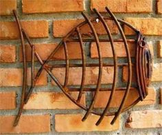 Funny customized metal weld ideas my site Welding Art Projects, Welding Crafts, Metal Art Projects, Metal Crafts, Welding Tips, Metal Art Sculpture, Fish Sculpture, Metal Yard Art, Scrap Metal Art