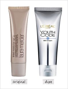 Laura Mercier tinted moisturizer! Dupes! L'Oreal Bb cream