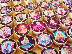 Birthday Cupcakes Edible Image Barbie | Aisha Puchong Jaya