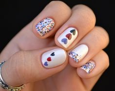 Pretty hearts! Nailed it blog.