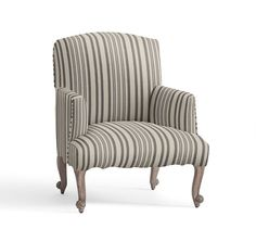 Lincoln Upholstered Armchair | Pottery Barn