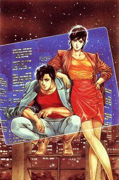 City Hunter Manga Anime, Film Anime, Manga Art, Comic Books Art, Comic Art, Book Art, Nicki Larson, City hunter, Illustration Manga
