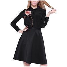 Partiss New Style Fashion Women's Elegant Rose Printing Slim Fit Shirt(Chinese S,Black) Partiss http://www.amazon.co.uk/dp/B01E6QD6OK/ref=cm_sw_r_pi_dp_O.Vdxb0YBFBZH