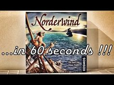 Norderwind - Board Game Roundup in 60s - YouTube