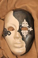 #mask real size #handmade