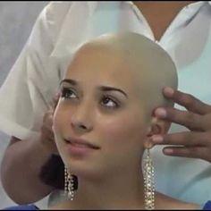 Bald Heads - Hairl Loss Tips Bald Head Women, Shaved Head Women, Stop Hair Loss, Prevent Hair Loss, Real Beauty, Hair Beauty, Crop Haircut, Shave My Head, Going Bald