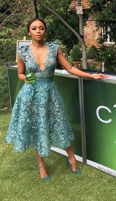 Bonang Matheba Stuns In See-Through Dress For Ciroc