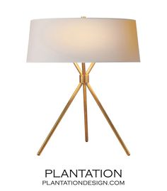 Brian Table Lamp | Antique Brass