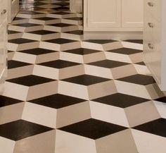 Congoleum Vinyl Flooring - modern - Floors - Los Angeles - Crogan Inlay Floors